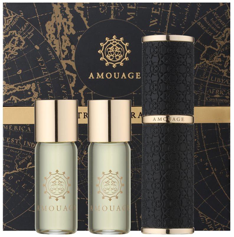 Amouage Epic parfémovaná voda pro muže 3 x 10 ml (1x plnitelná + 2x náplň)