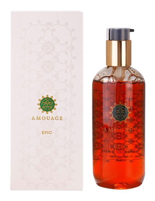 Amouage Epic gel doccia per donna 300 ml