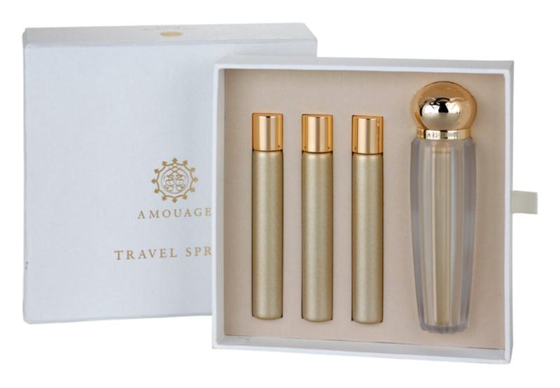 Amouage Gold Parfumovaná voda pre ženy 4 x 10 ml (1x plnitelná + 3x náplň)