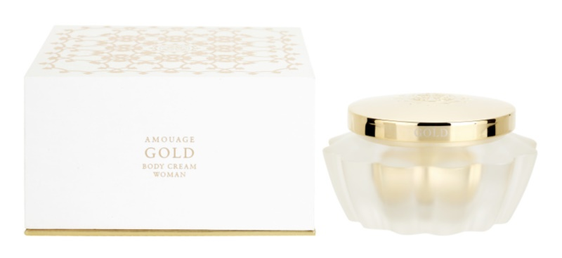 Amouage Gold creme corporal para mulheres 200 ml