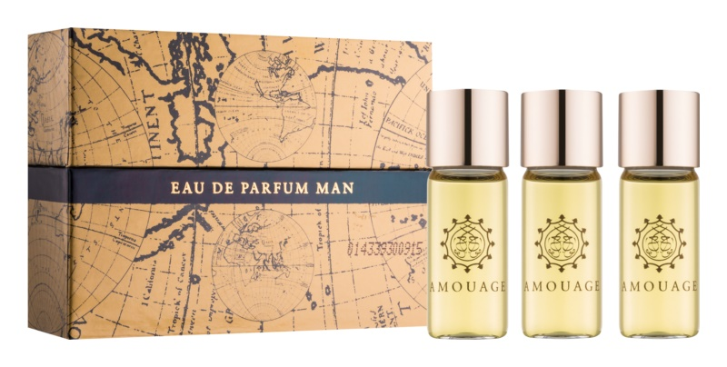 Amouage Interlude Eau de Parfum for Men 3 x 10 ml (3x Refill)