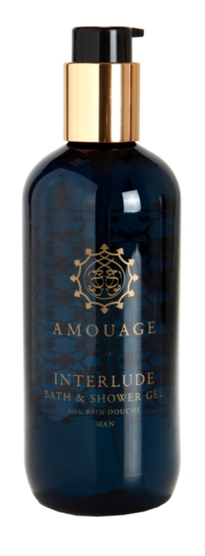 Amouage Interlude gel douche pour homme 300 ml