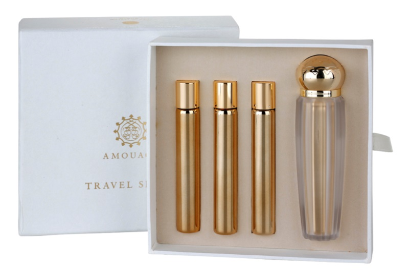 Amouage Jubilation 25 Woman Eau de Parfum für Damen 4 x 10 ml (1x Nachfüllbar + 3x Nachfüllung)