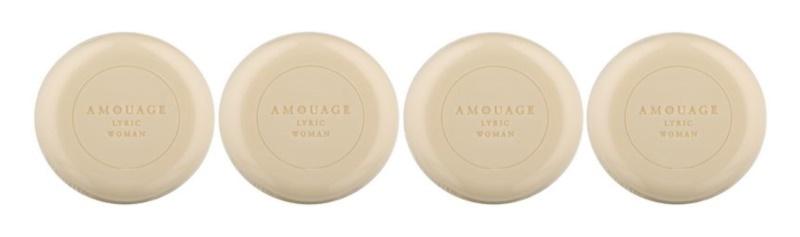 Amouage Lyric savon parfumé pour femme 4 x 50 g