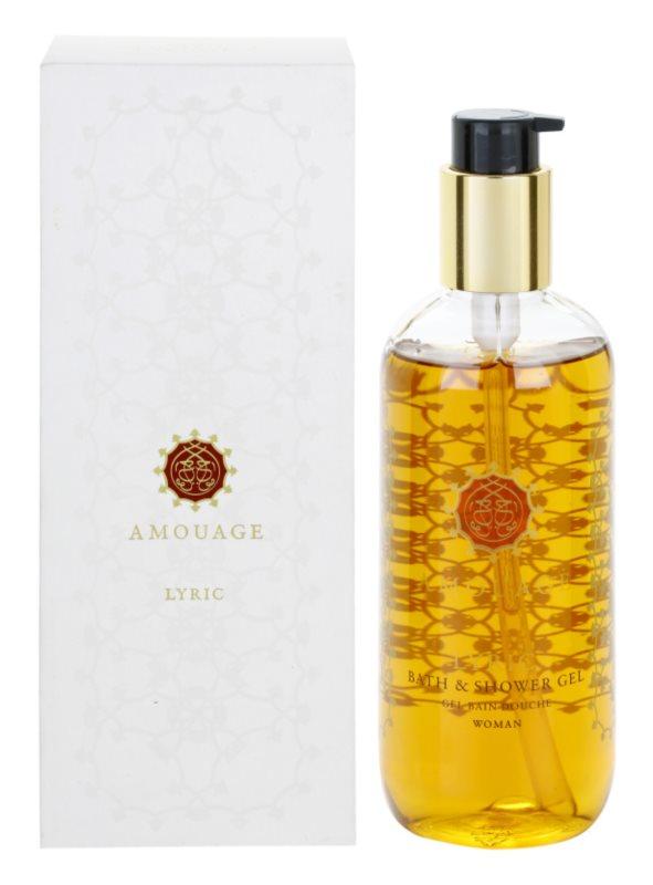 Amouage Lyric sprchový gél pre ženy 300 ml