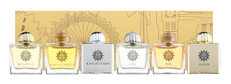 Amouage Miniatures Bottles Collection Women dárková sada II. Gold, Dia, Ciel, Reflection, Jubilation 25, Beloved