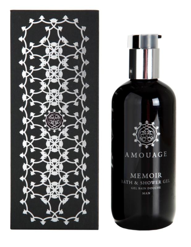 Amouage Memoir sprchový gél pre mužov 300 ml