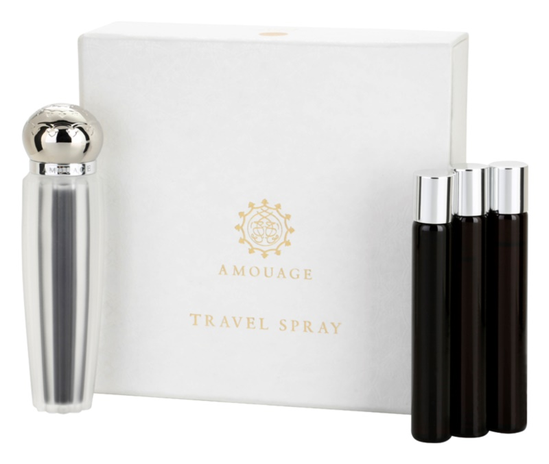 Amouage Memoir Eau de Parfum für Damen 4 x 10 ml (1x Nachfüllbar + 3x Nachfüllung)