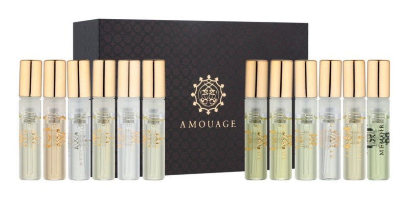 Amouage Men's Sampler Set Geschenkset I.