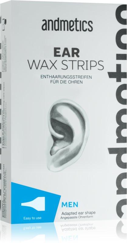 andmetics Wax Strips восъчни ленти за обезкосмяване на уши