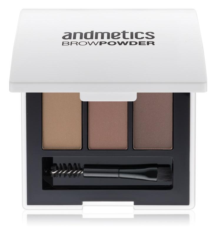 andmetics Brows pudr na obočí