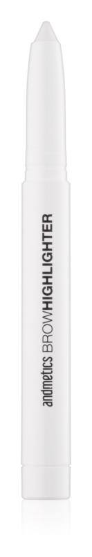 andmetics Brows pero za osvetljevanje za pod obrvi