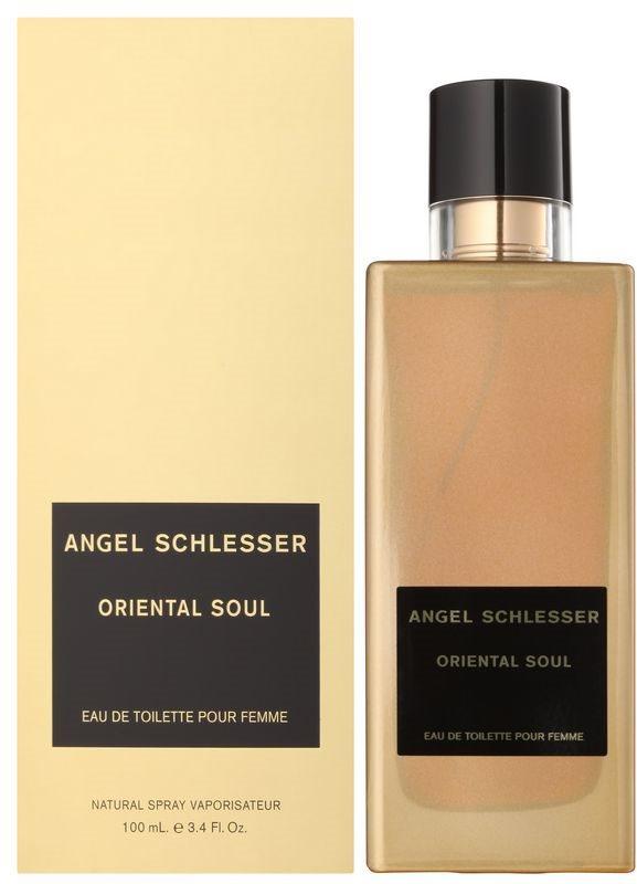 Angel Schlesser Oriental Soul Eau de Toilette for Women 100 ml