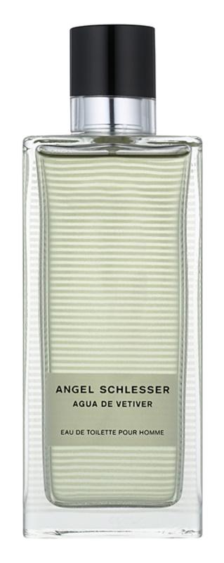 Angel Schlesser Agua de Vetiver eau de toilette férfiaknak 150 ml
