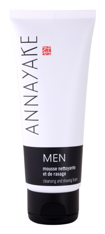 Annayake Men's Line Schaum zum Rasieren und Hautreinigen