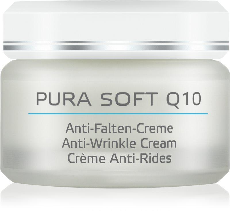ANNEMARIE BÖRLIND Pura Soft Q10 feuchtigkeitsspendende Creme gegen Falten