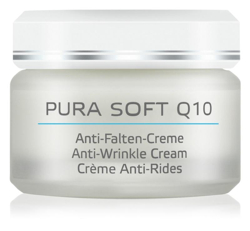 ANNEMARIE BÖRLIND Pura Soft Q10 hidratáló ránctalanító krém