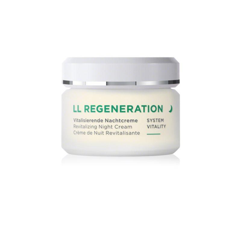 ANNEMARIE BÖRLIND LL Regeneration regenerierende Nachtcreme für trockene Haut