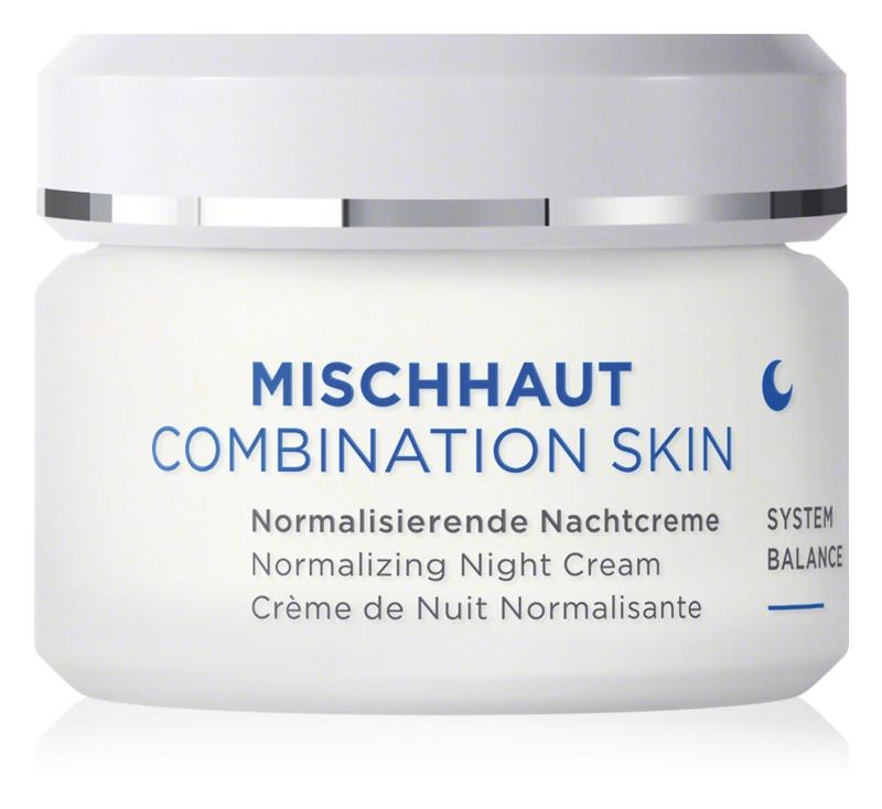 ANNEMARIE BÖRLIND Combination Skin nočna krema za normalizacijo kože