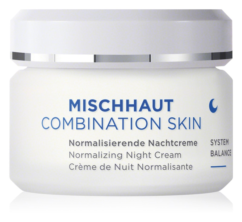 AnneMarie Börlind Combination Skin normalisierende Nachtcreme