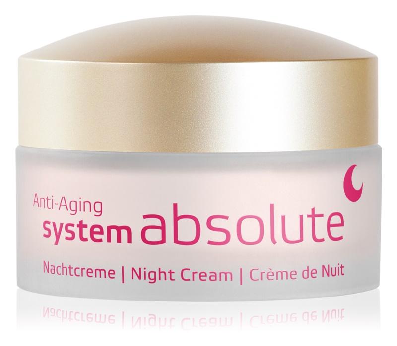 ANNEMARIE BÖRLIND System Absolute - System Anti - Aging regenerierende Nachtcreme gegen die Zeichen des Alterns
