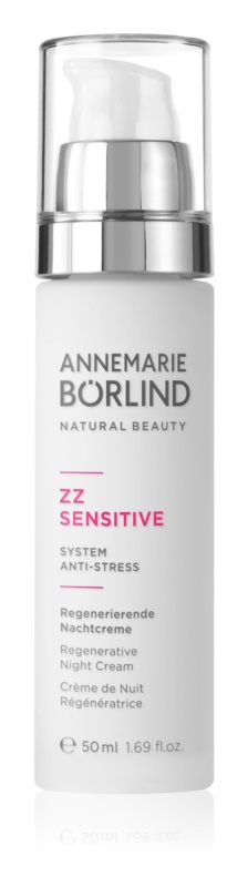 ANNEMARIE BÖRLIND AnneMarie Börlind ZZ Sensitive regenerierende Nachtcreme