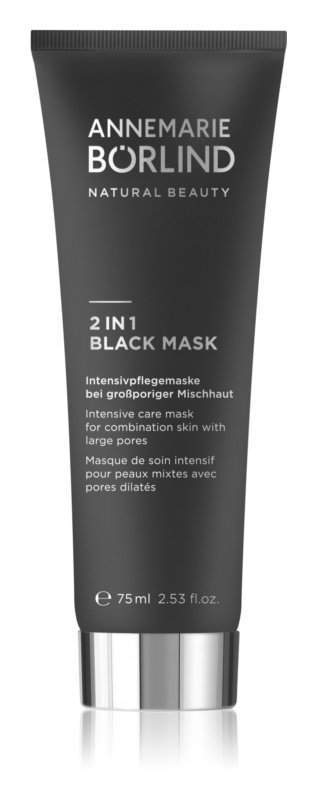 ANNEMARIE BÖRLIND Beauty Masks maska 2v1 za mešano do mastno kožo