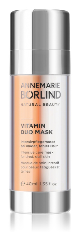 ANNEMARIE BÖRLIND Beauty Masks vitaminska maska za obraz