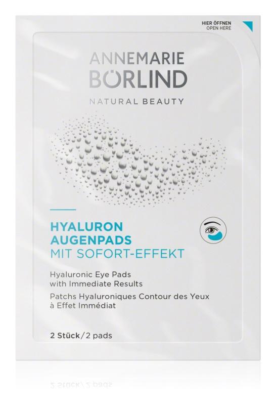 ANNEMARIE BÖRLIND AnneMarie Börlind Eye & Lip Care Hyaluron-Feuchtigkeitsmaske für den Augenbereich