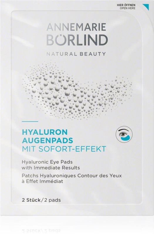 ANNEMARIE BÖRLIND Eye & Lip Care hialuronski vlažilni obkladki za oči