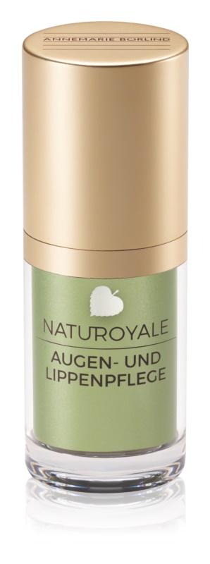 ANNEMARIE BÖRLIND Naturoyale Creme für den Augenbereich und die Lippen für reife Haut