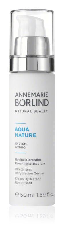 ANNEMARIE BÖRLIND AquaNature - System Hydro revitalizacijski vlažilni serum