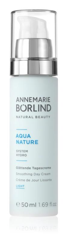 ANNEMARIE BÖRLIND AquaNature - System Hydro leichte Tagescreme mit glättender Wirkung