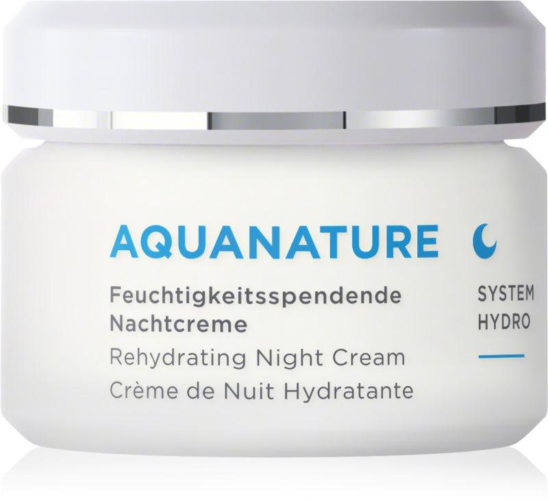 ANNEMARIE BÖRLIND AquaNature - System Hydro vlažilna nočna krema
