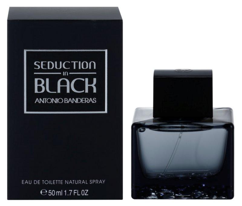 Antonio Banderas Seduction in Black toaletná voda pre mužov 50 ml