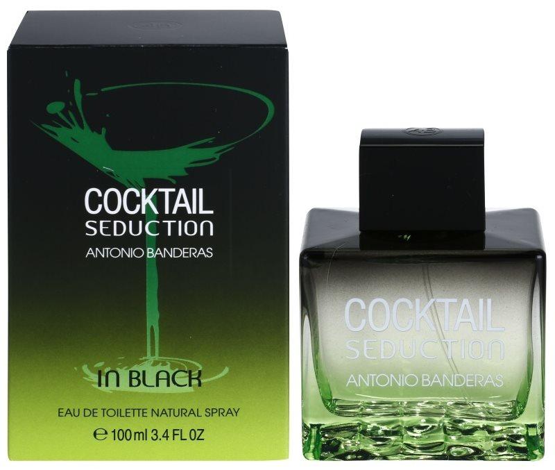 Antonio Banderas Cocktail Seduction In Black Eau de Toillete για άνδρες 100 μλ