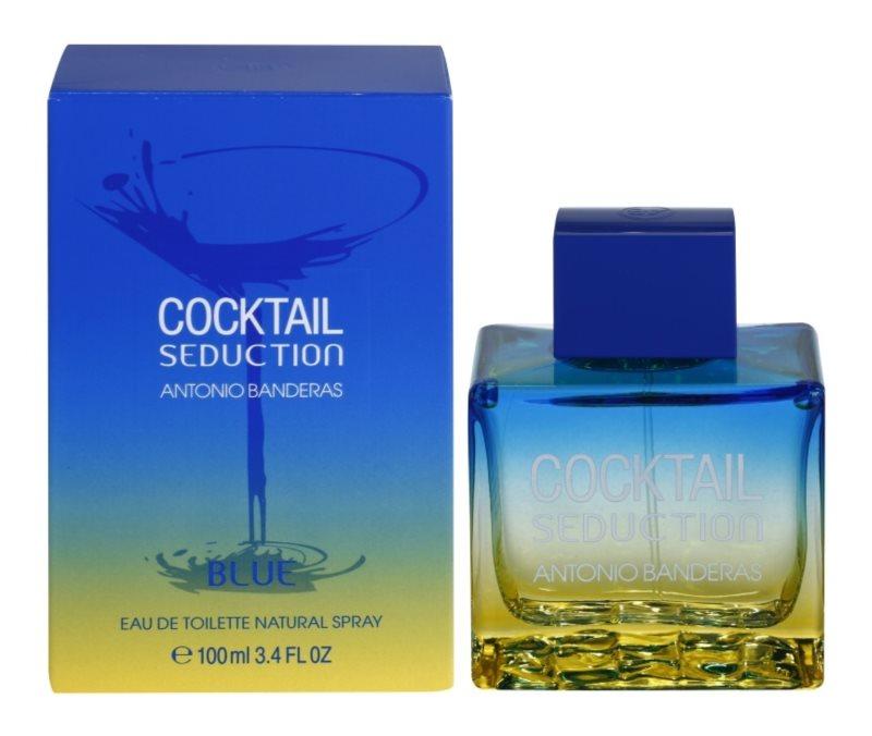 Antonio Banderas Cocktail Seduction Blue Eau de Toilette Herren 100 ml
