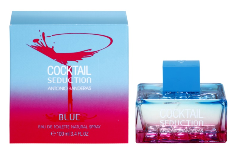Antonio Banderas Cocktail Seduction Blue туалетна вода для жінок 100 мл