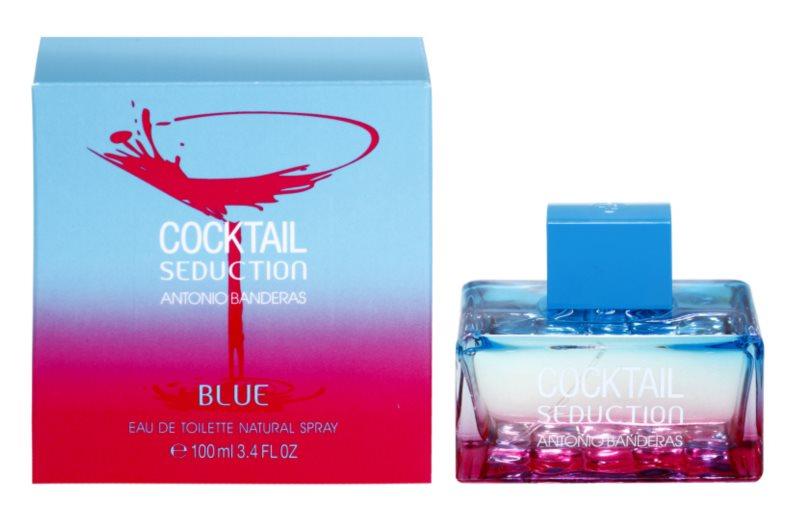 Antonio Banderas Cocktail Seduction Blue Eau de Toilette Damen 100 ml