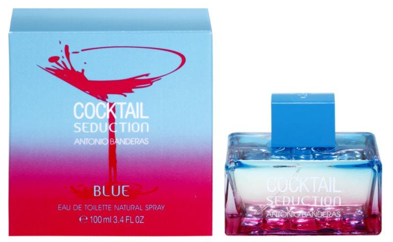 Antonio Banderas Cocktail Seduction Blue eau de toilette pentru femei 100 ml
