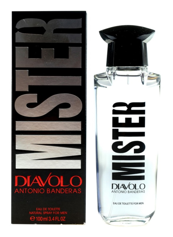 Antonio Banderas Diavolo Mister Eau de Toilette for Men 100 ml