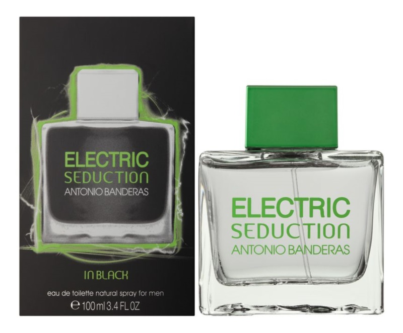 Antonio Banderas Electric Seduction In Black Eau de Toilette for Men 100 ml