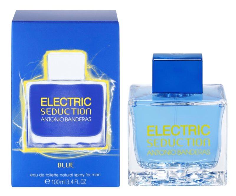 Antonio Banderas Electric Blue Seduction Eau de Toilette für Herren 100 ml