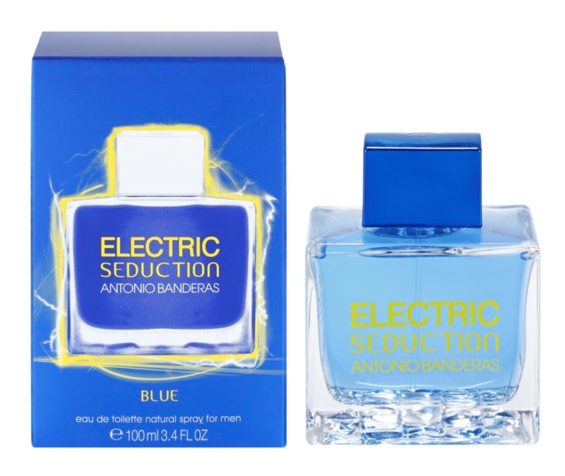 Antonio Banderas Electric Seduction Blue Eau de Toilette für Herren 100 ml