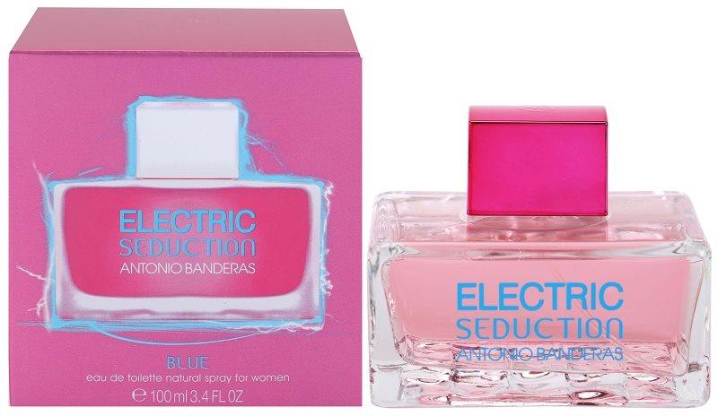 Antonio Banderas Electric Blue Seduction woda toaletowa dla kobiet 100 ml