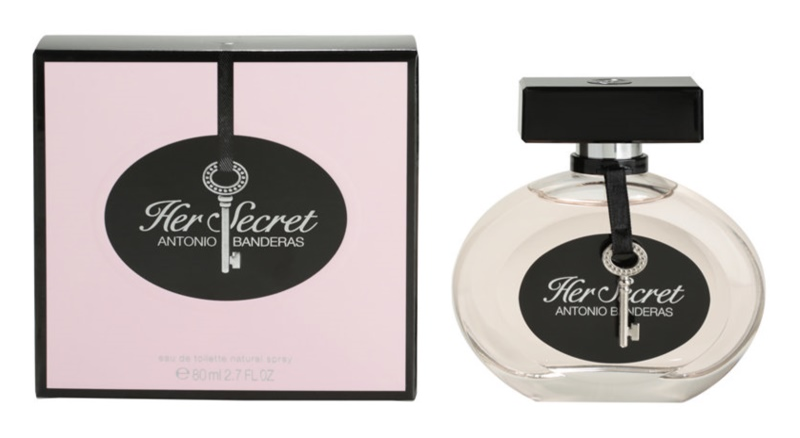 Antonio Banderas Her Secret Eau de Toilette für Damen 80 ml