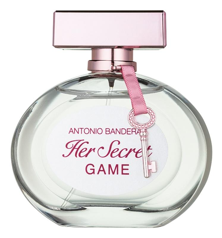 Antonio Banderas Her Secret Game eau de toilette pour femme 80 ml