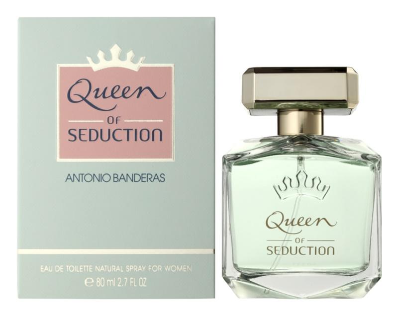 Antonio Banderas Queen of Seduction Eau de Toillete για γυναίκες 80 μλ