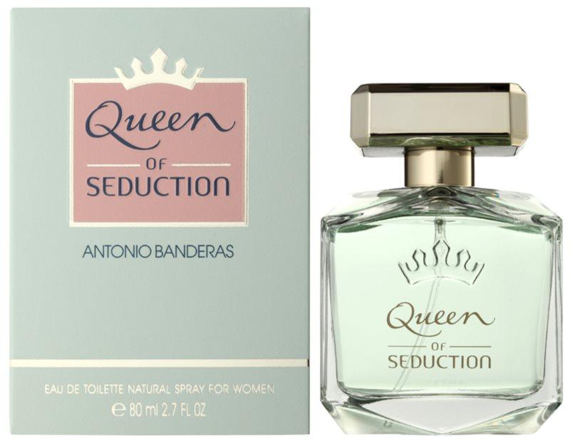 Antonio Banderas Queen of Seduction toaletní voda pro ženy 80 ml