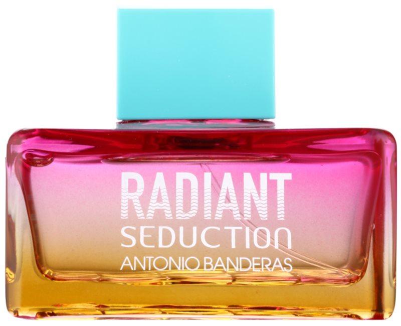 Antonio Banderas Radiant Seduction Blue Eau de Toilette voor Vrouwen  100 ml